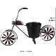 New Product China Supplier Garden Decor Elegant Style Vintage Bicycle metal creative bicycle flower pot