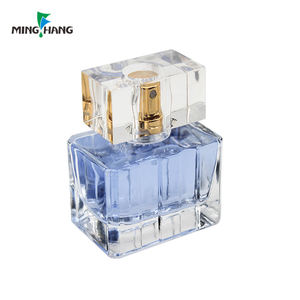 Wholesale unique 75ml 50ml Empty Perfume Bottles 25ml Glass Bottle For Perfume