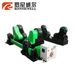 Green thread plate rolling welding rotator machine