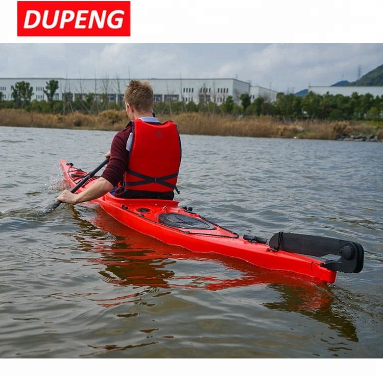 Customized Logo Single Plastic Sit On Top Sea Touring Kayak Made In China