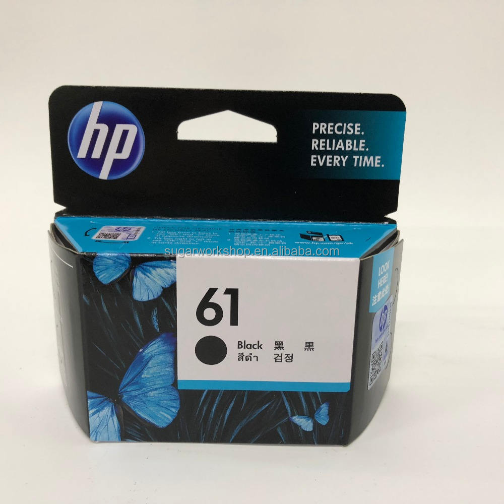 Original Genuine HP 61 Black / Color Ink Cartridge CH561WA CH562WA 61XL CH563WA CH564WA Deskjet/1000/1012/1050/1050A/1051/1055