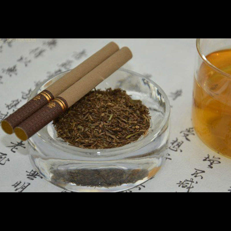 nicotine-free health smoking puer tea cigarette