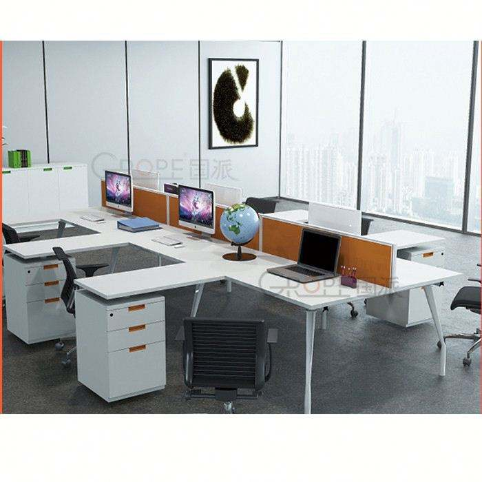 Di alta qualità scrivanie in vendita l-shape tavolo ufficio, <span class=keywords><strong>pannelli</strong></span> di <span class=keywords><strong>modestia</strong></span> per <span class=keywords><strong>scrivania</strong></span>