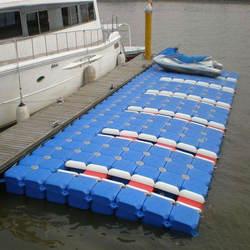 China Plastic Modular Wholesale HDPE Ship Floating Jetty Pontoon