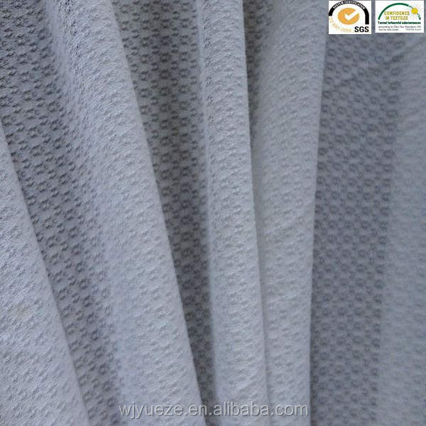 new hot sale product 100% polyester jacquard mesh fabric tricot knitted net fabric