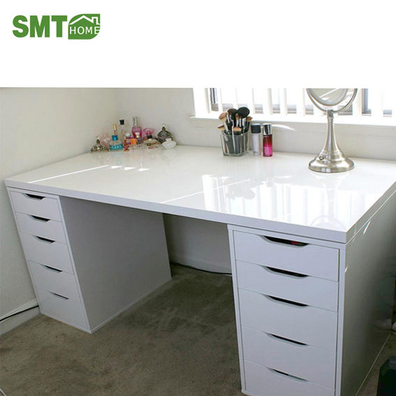Modern Make up table sapateiras with lights and mirror