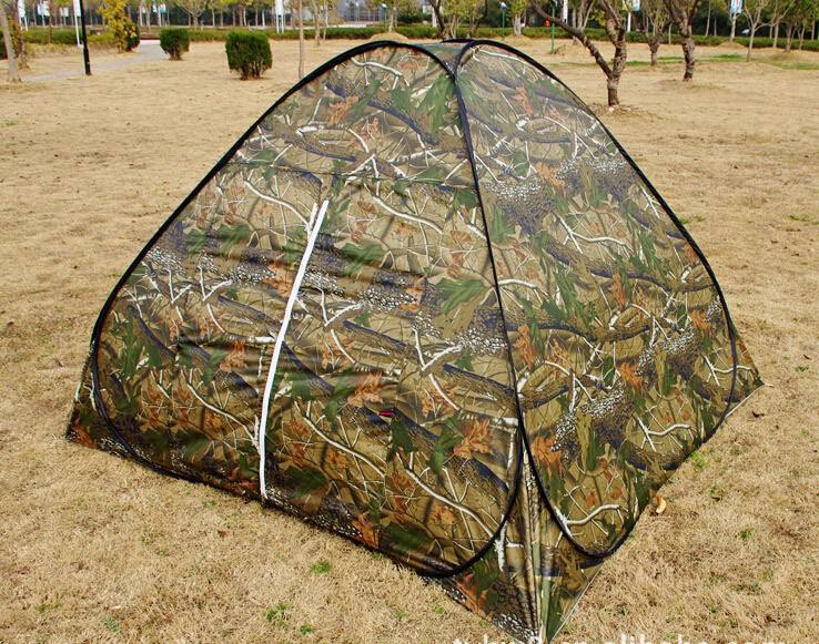 AIOIAI pop up camouflage tent shelter hunting tent camo hunting blind tent