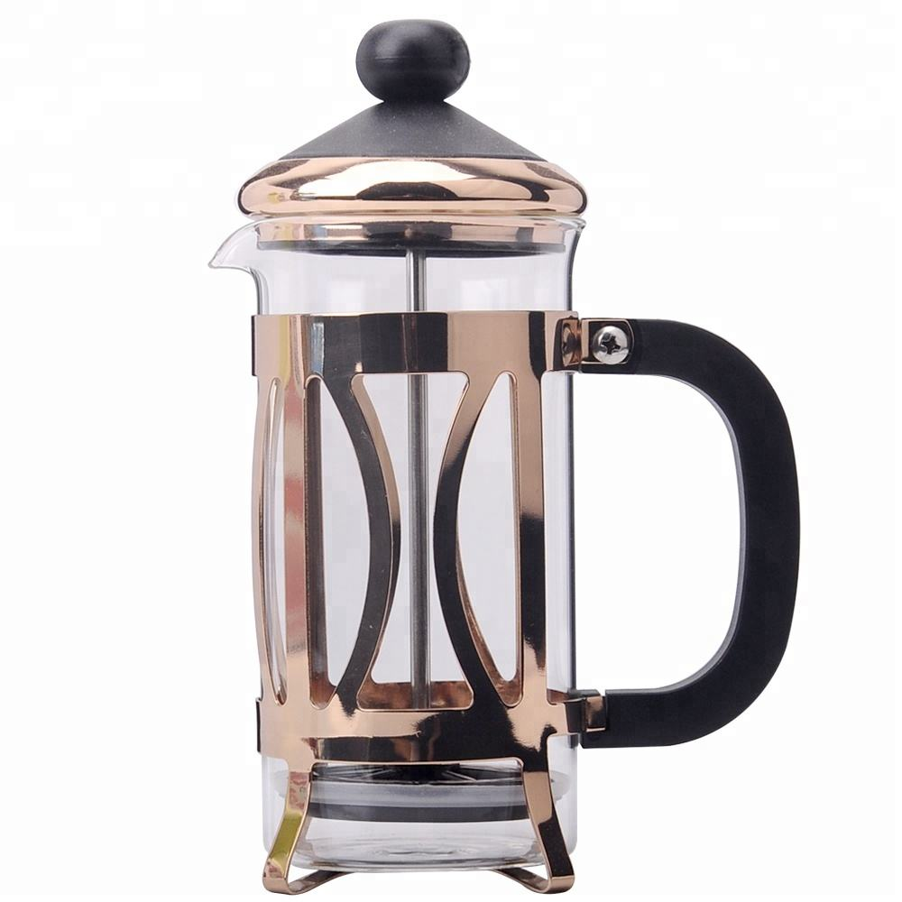 350ml Glass Material and Coffee & Tea Sets Drinkware Type French Press Coffee Maker