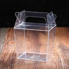 Hot Sale Clear Cake PVC Box, Transparent Acetate Box Packaging