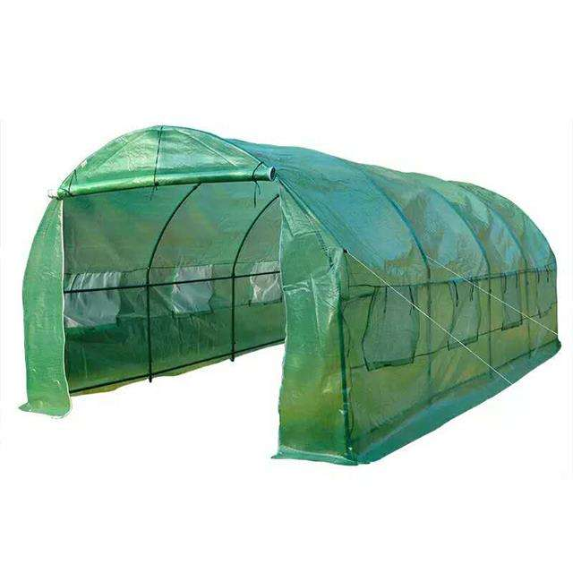 Cheap hobby vegetable garden flower greenhouse 6x3x2.2m with 2 doors