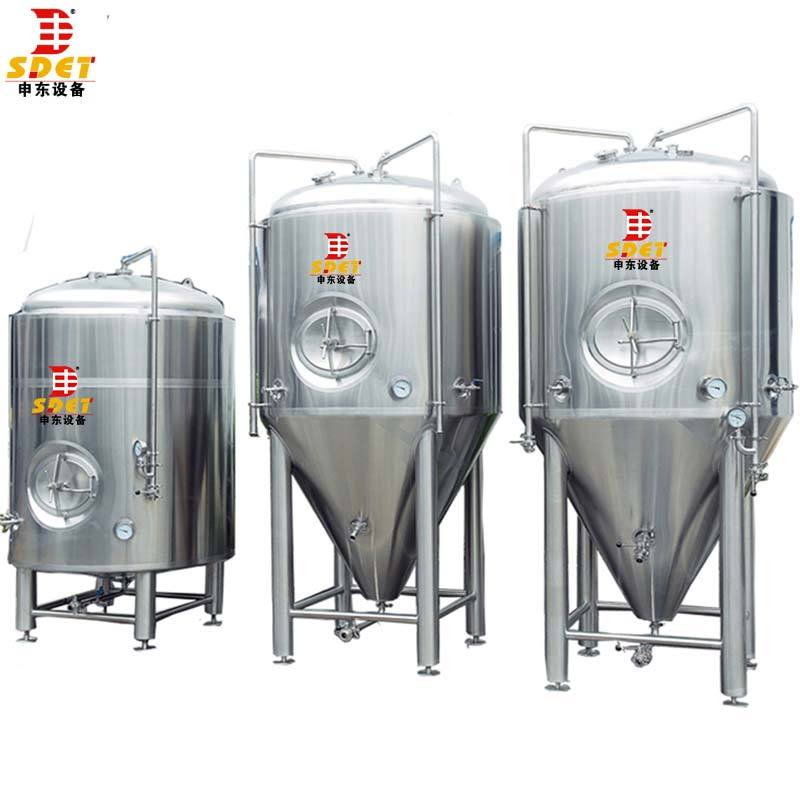 Carbonated Beverage [ Stainless Steel Tank ] Cheap Price Stainless Steel Brite Beer Tank Storage Tank For Brewery