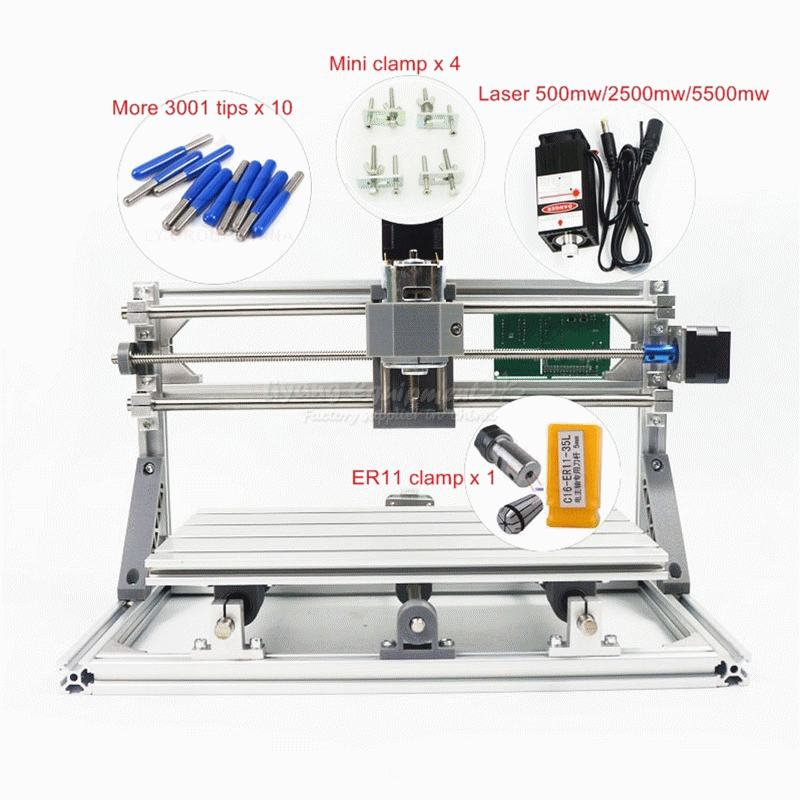CNC 3018 PRO cnc router with GRBL control