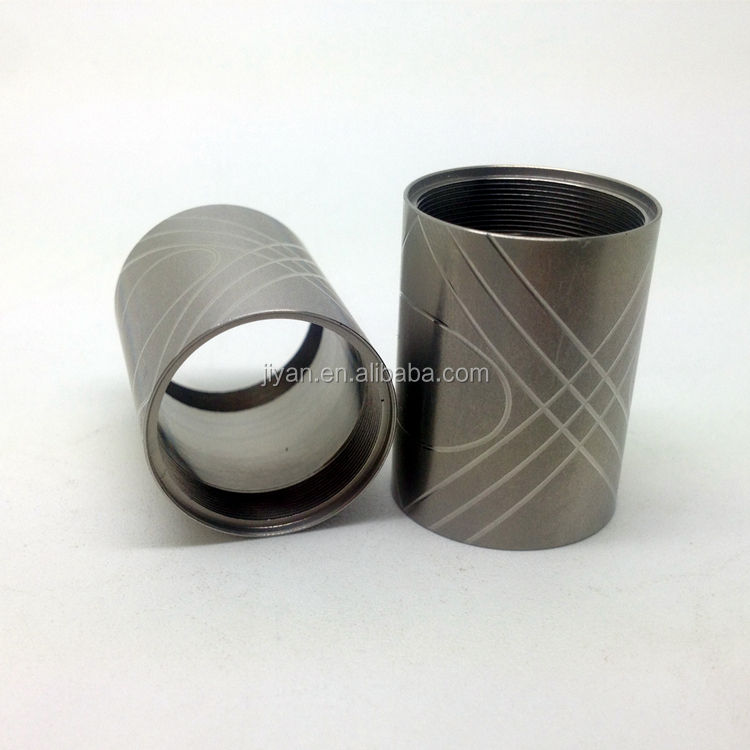 precision cnc machined Galvanized Steel Pipe Sleeve