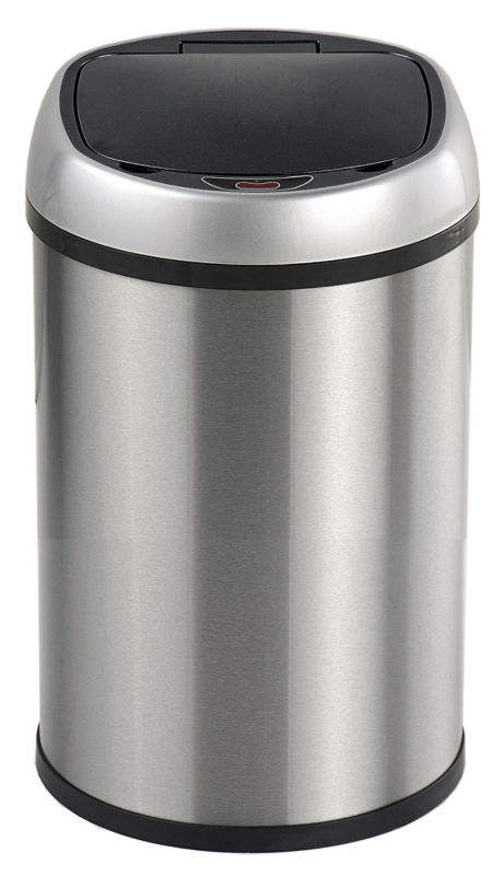 battery bin dustbin sensor container lid