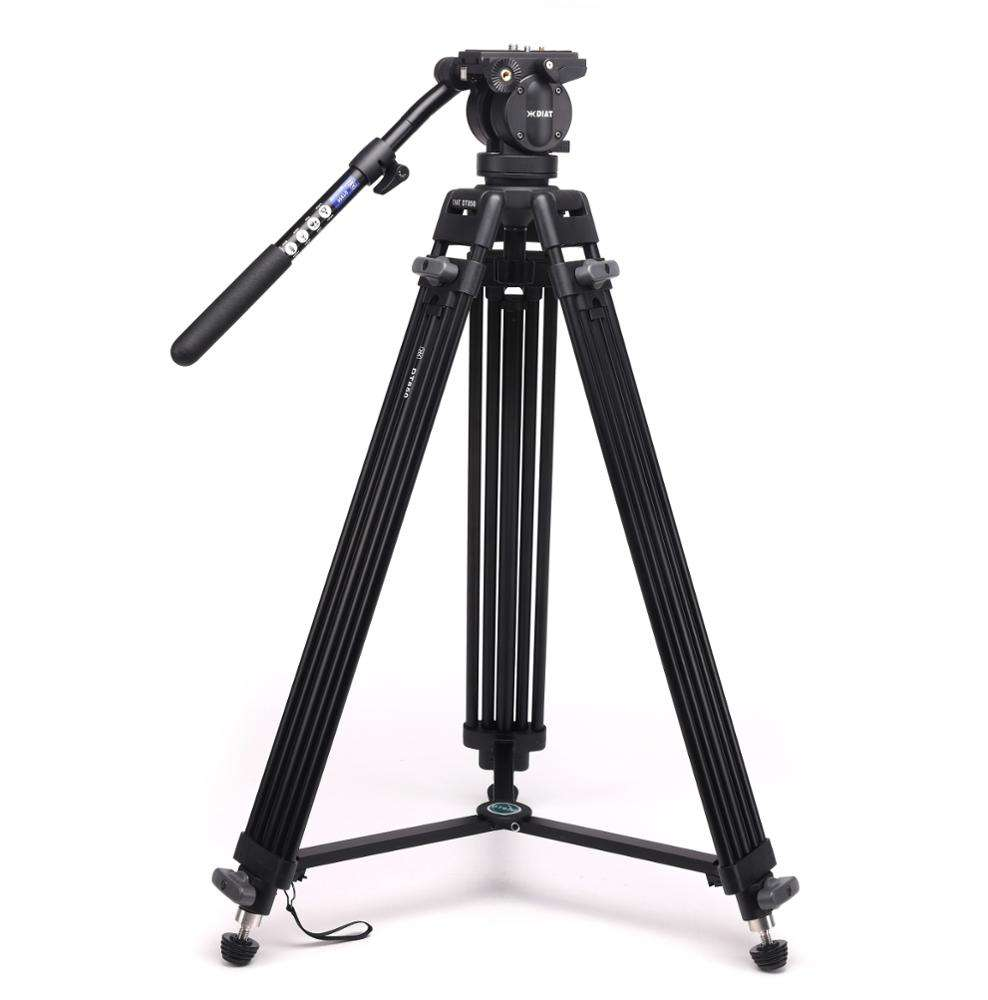 DIAT DT850 New Professional Video Camera Tripod for Broadcast Professional Photography Camera Stand Tripod