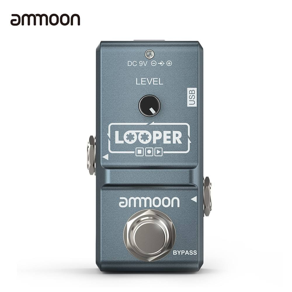 Ammoon AP-09 super mini-loop effect electric guitar single effect with USB cable I1995