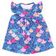 Shining mermaid printed clothes nice pearl dress for baby girls top quality kids frocks design 2019 hot styles