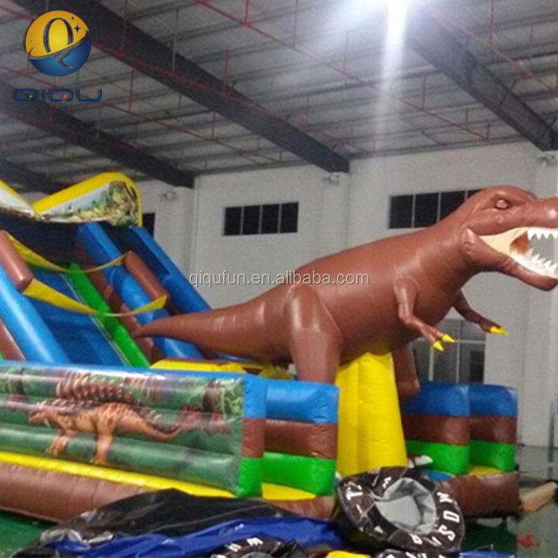 high quality customized inflatable dinosaur bounce house for sale