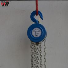 hot sales! 10t HSZ series g80 chain hand pulley block round chain block