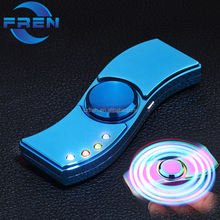 2018 Fren USB electric lighter Rechargeable usb plasma lighter Fidget Spinner