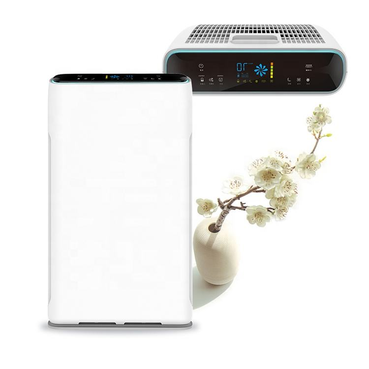 High Efficient Hepa Negative Ion UV light Ionice Air Purifier Machine