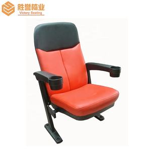 Theater cup holder fabric wholesale cinema chair