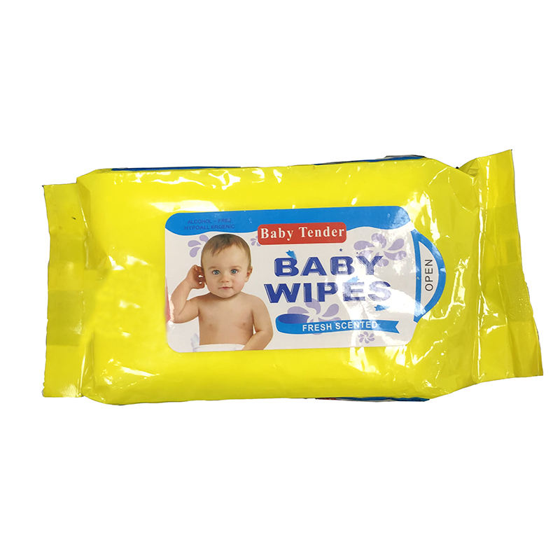 New Wholesale Antibacterial Alcohol-free Soft Baby Wet Wipe for Cleaning
