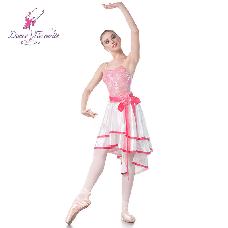 Dance Favourite Top Quality Adult Girls Sequin Lace Ballet, Lyrical and Contemporary Dancing Dress 18431
