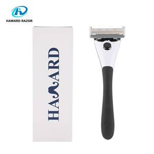 D960L 6+1 trimmer blade cartridge shaving razor with refills metal handle system razor