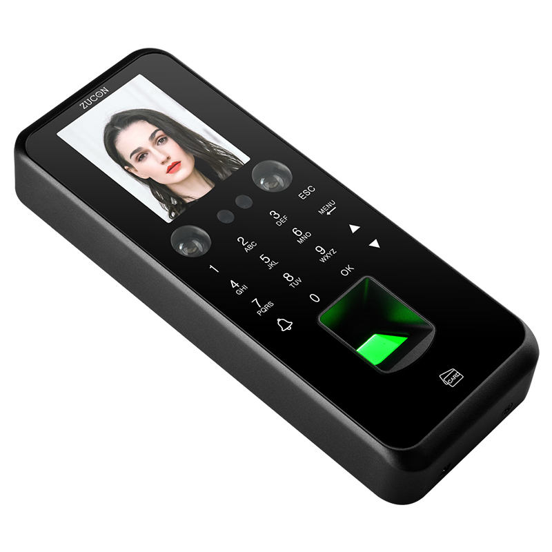 12V fingerprint face recognition door access control biometric device attendance system
