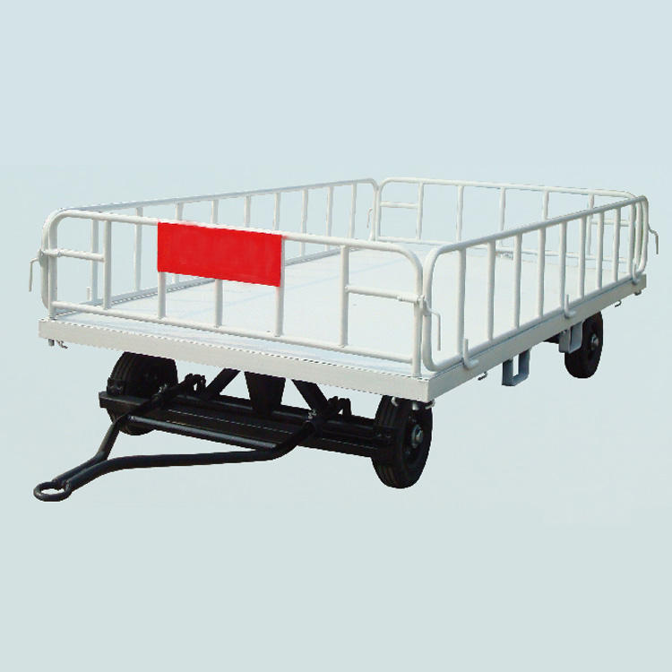 airport aircraft luggage cart/ aviation baggage cart