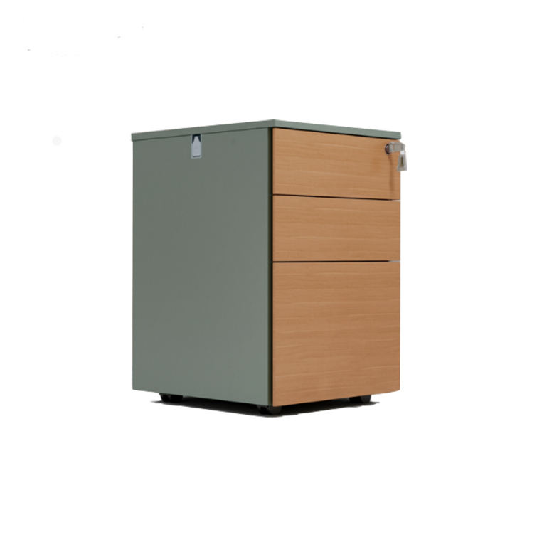 Hot Sell Office Furniture Wooden File Cabinet Drawer Mobile Cabinet Under Table Office Drawer Cabinet