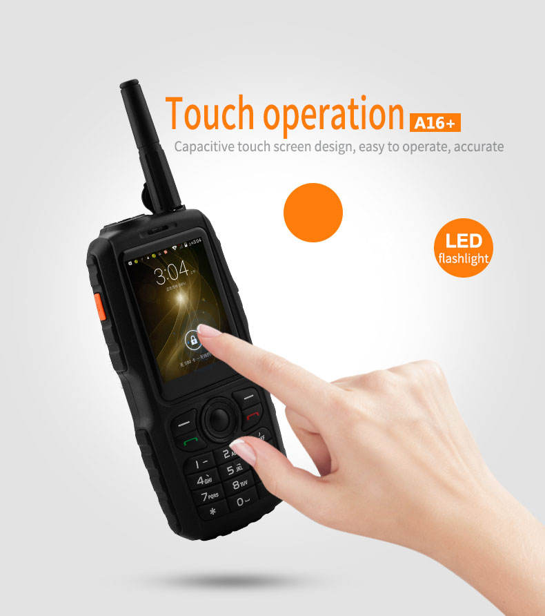 2019 neue A16 + <span class=keywords><strong>2</strong></span>.4 zoll Walkie Talkie Quad band GSM entsperrt handy