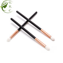 Free sample top nylon hair small cosmetic eyeshadow brush and applicator