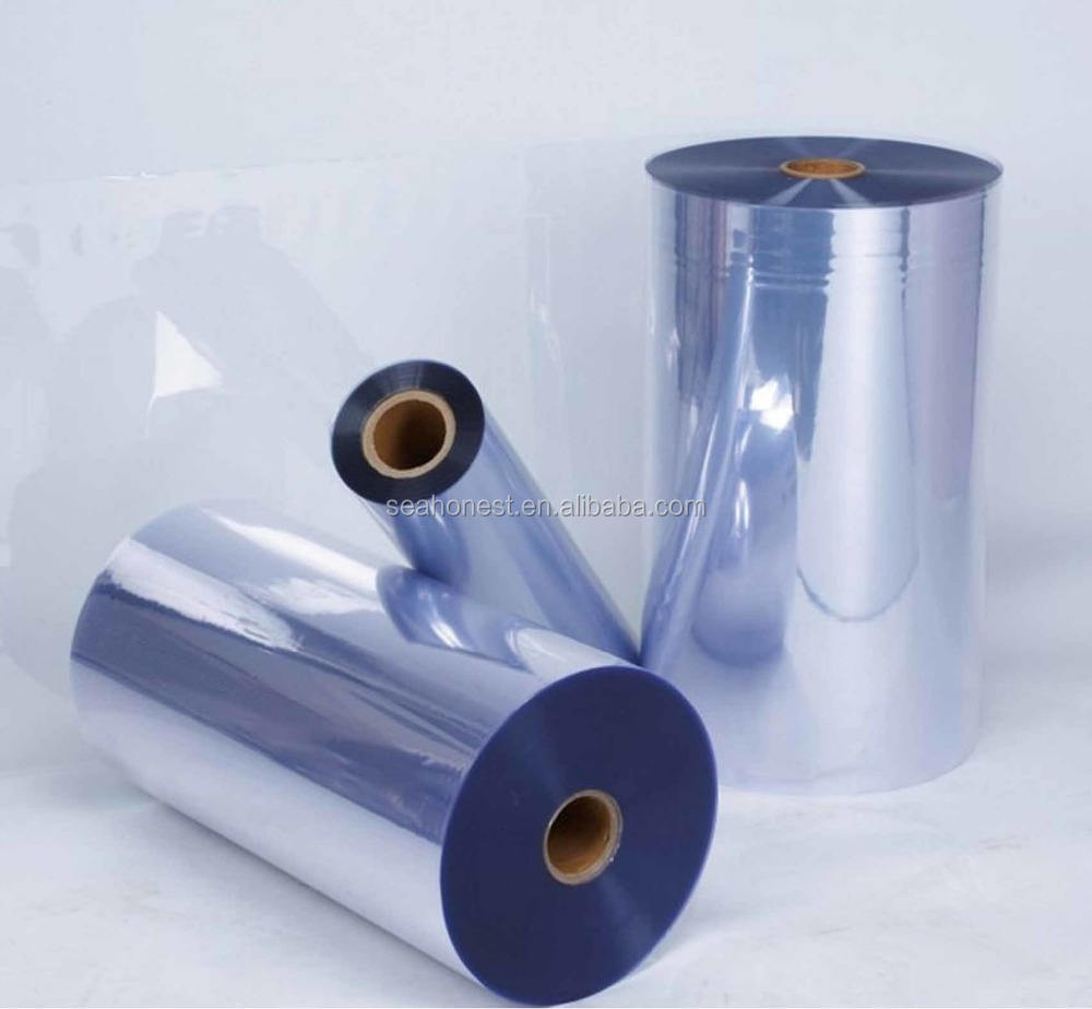Hot Sale Transparent hard PVC Plastic Sheet Roll For Blister Packaging