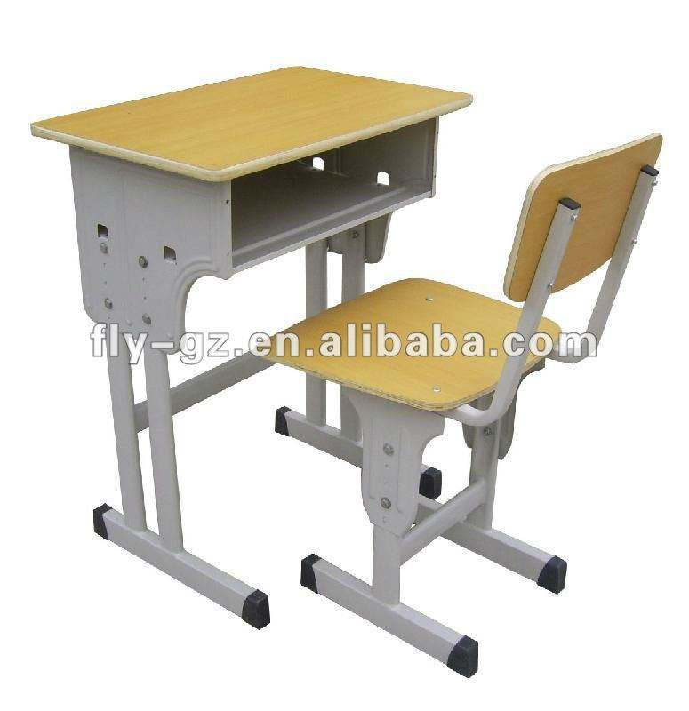 secondary school student desk and chair/school furniture
