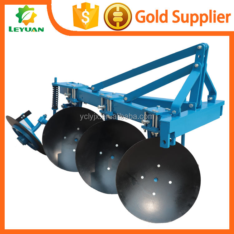3 Disc Plough hot sale for 4 wheels tractor