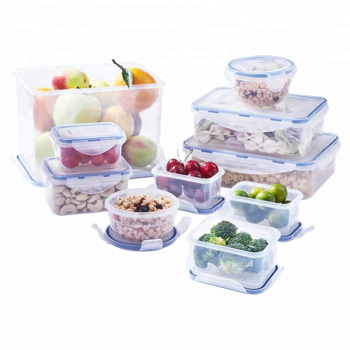 20 Piece Promotion Plastic Food Storage Container Gift Set
