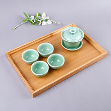 Wholesale Good Quality custom coffee tea food wooden serving tray