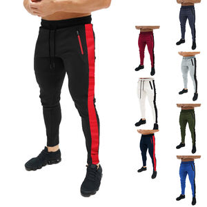 Wholesale Fashion European Slim Fit Sport Taped Pocket Design Bulk Men Jogger Pants,men jogger sweatpants