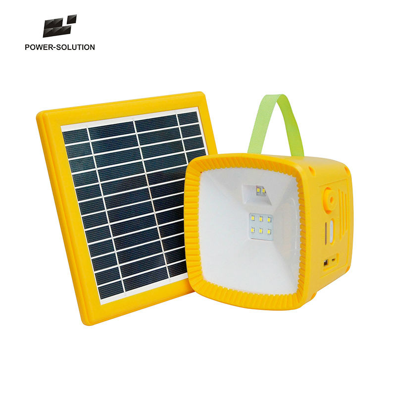Hot sale multifunctional portable solar torch light built-in FM radio and solar mobile charger for outdoor camping lantern