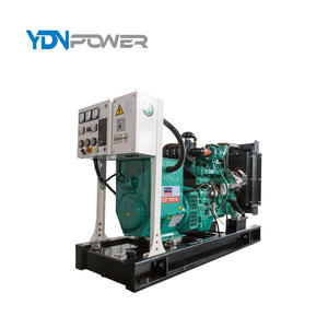 48kw 60kva diesel generator power from cummins 4BTA3.9-G2 engine