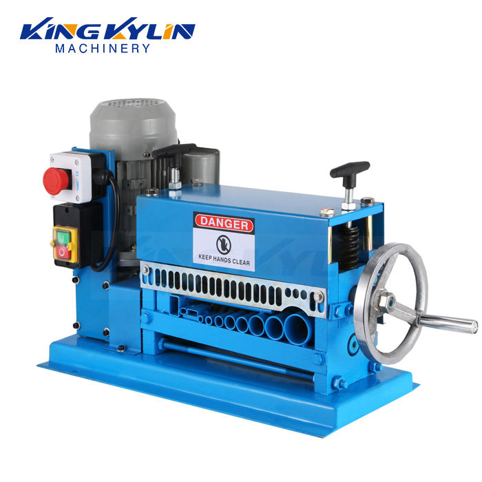 KK- 038 automatic scrap cable wire stripper machine waste copper wire stripping machine