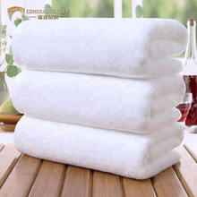 Pure 100 Cotton 630gsm White Egyptian Cotton Bath Hand Towel for Hotel Sport SPA