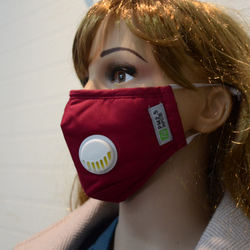 Warm pollution cotton PM2.5 face mouth mask with filter
