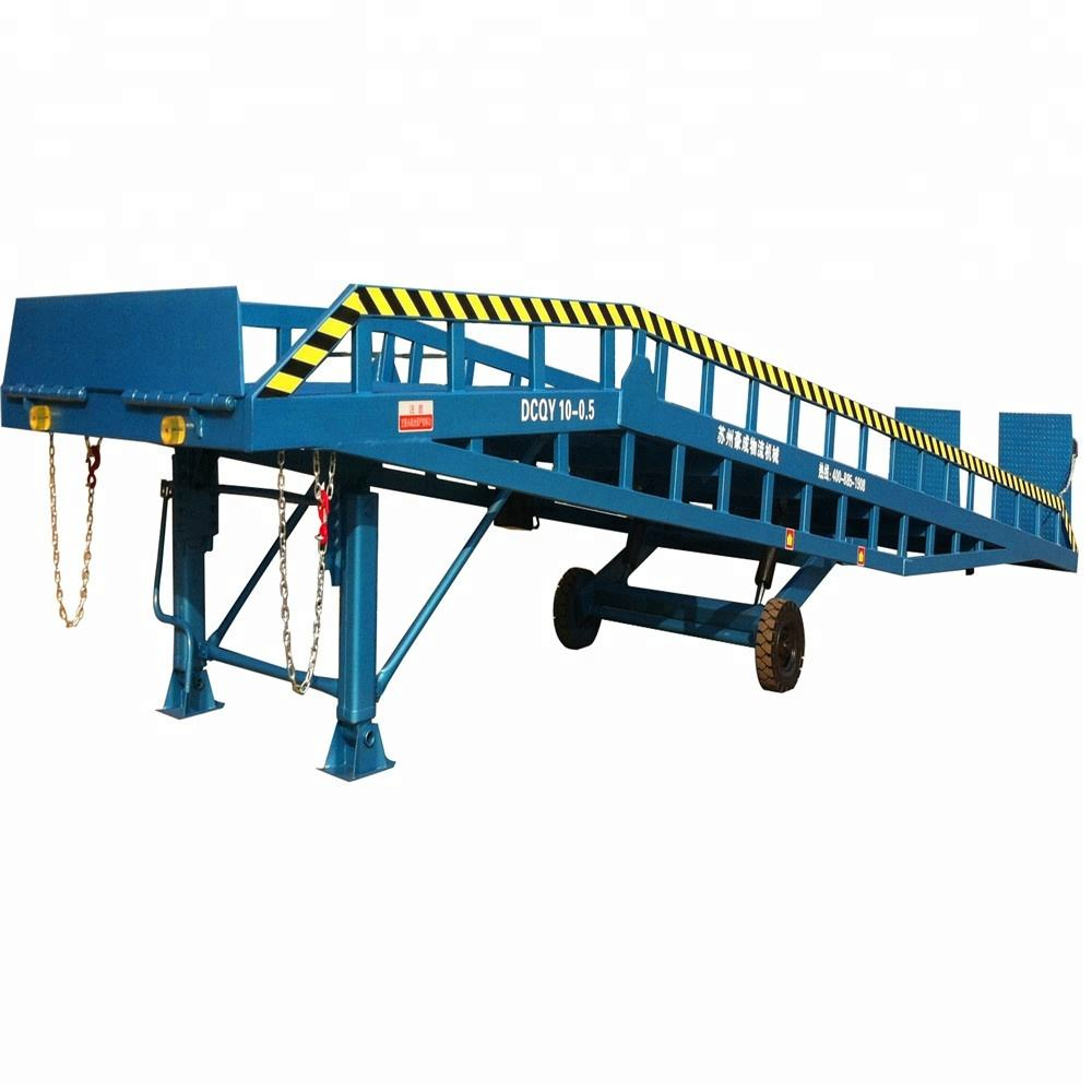 15ton Hydraulic warehouse mobile container load ramp for sale