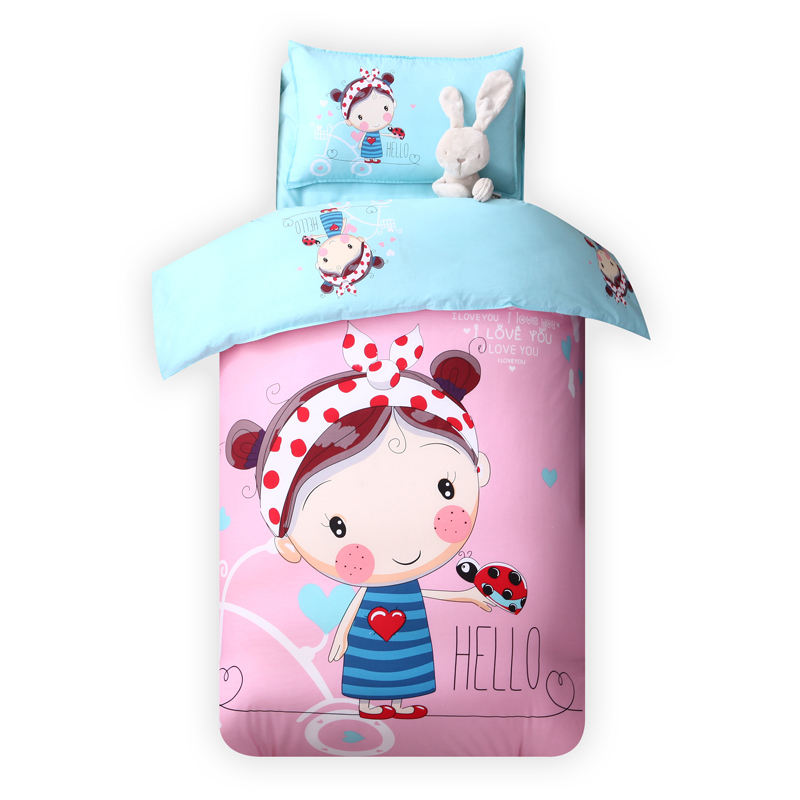 China Design Your Own Bed Linen Kids Bedding Sets For Girls