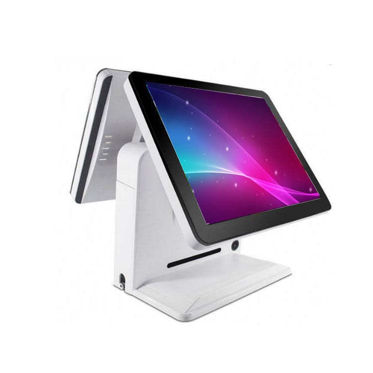 Dual-screen 15 zoll pos system touchscreen-monitor für Kino ticket lobby