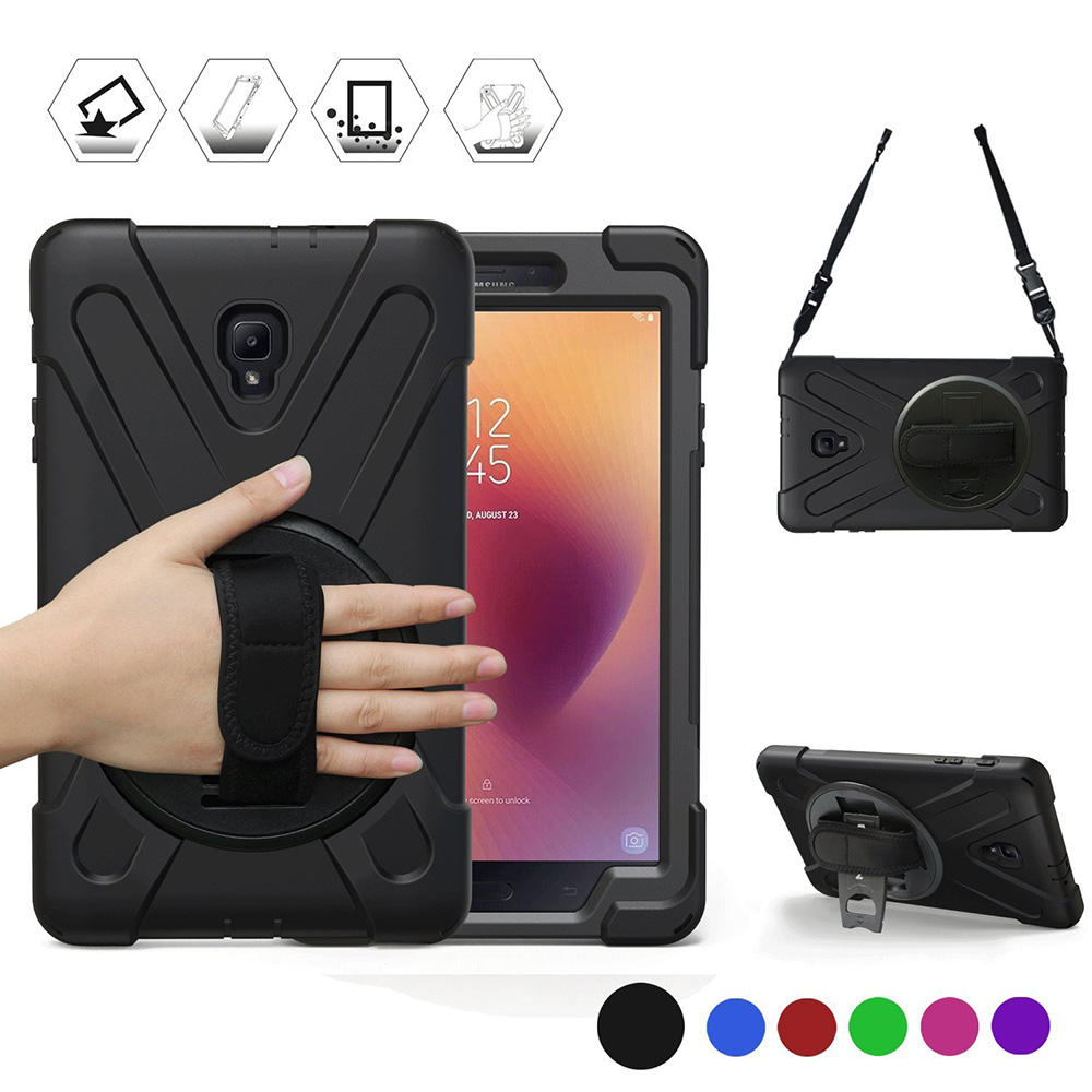 Heavy Duty שריון Tablet Case עבור Samsung Galaxy Tab 8