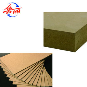 China Luli Gruppe 5mm 7mm 19mm Rohen MDF/Plain mdf-platte